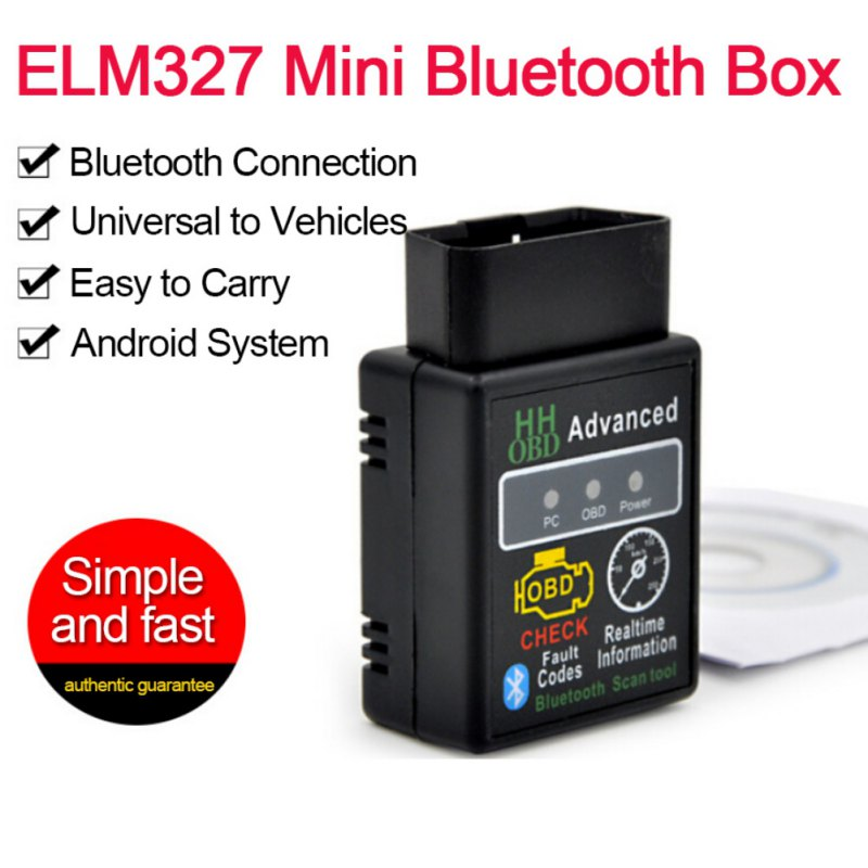 Details about OBD2 ELM327 V2 1 Bluetooth Car Scanner Android Torque  Diagnostic Scan Tool
