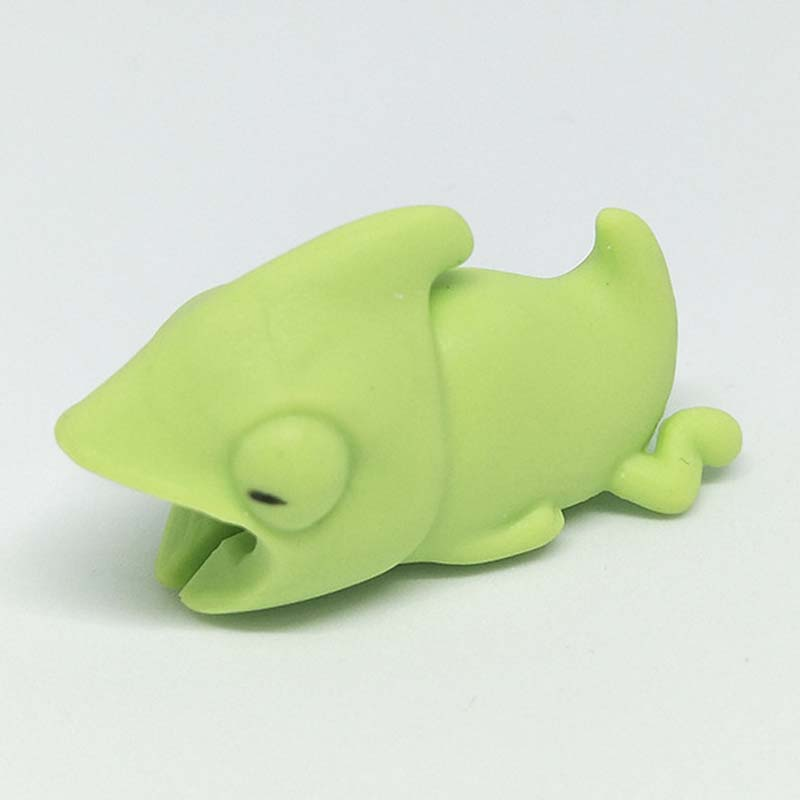 Lot Silicone Animal Cable Protector Organizer For Iphone